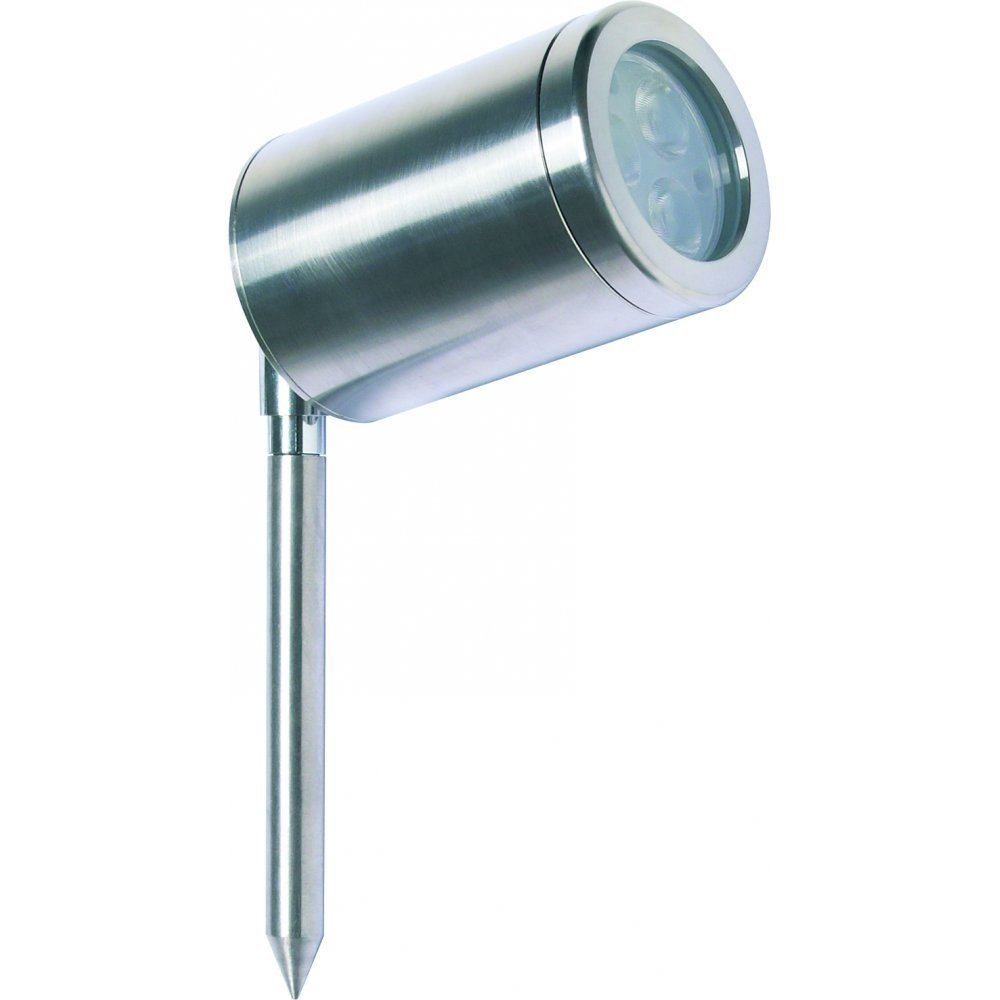 Led Outdoor Spike Light: Collingwood Lighting SL020A S WH Stainless Steel LED Spike