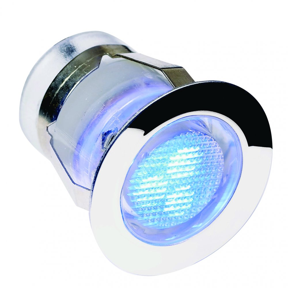 Endon Lighting El 40026 Blue Led Recess Light Endon