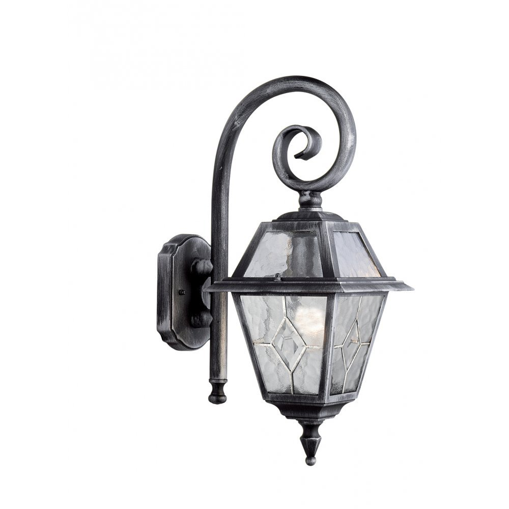 Electric Garden Wall Lights : Searchlight Electric Genoa 1515 Outdoor Wall Lantern Buy at Lightplan