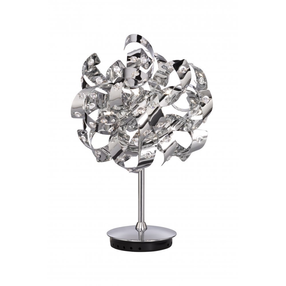 Searchlight electric curls 6816 6cc chrome with crystal detail table searchlight electric curls 6816 6cc chrome with crystal detail table lamp aloadofball Image collections