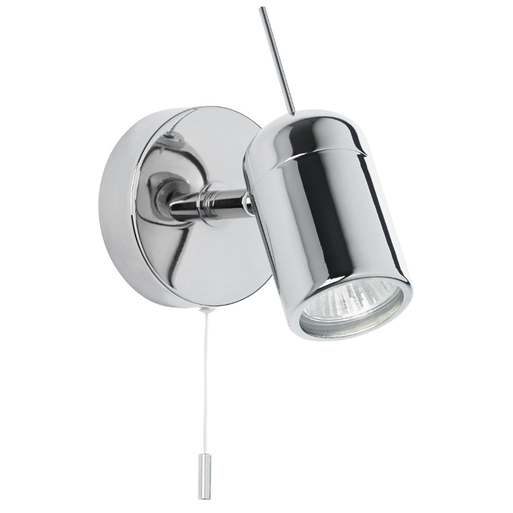 Endon Lighting EL-20089 Polished Chrome Wall Spotlight