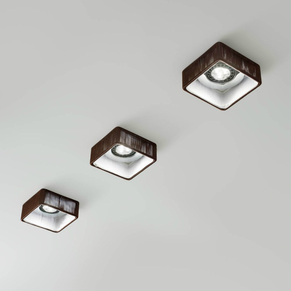 axo light clavius faclaviutaxx12v brown recessed ceiling downlight