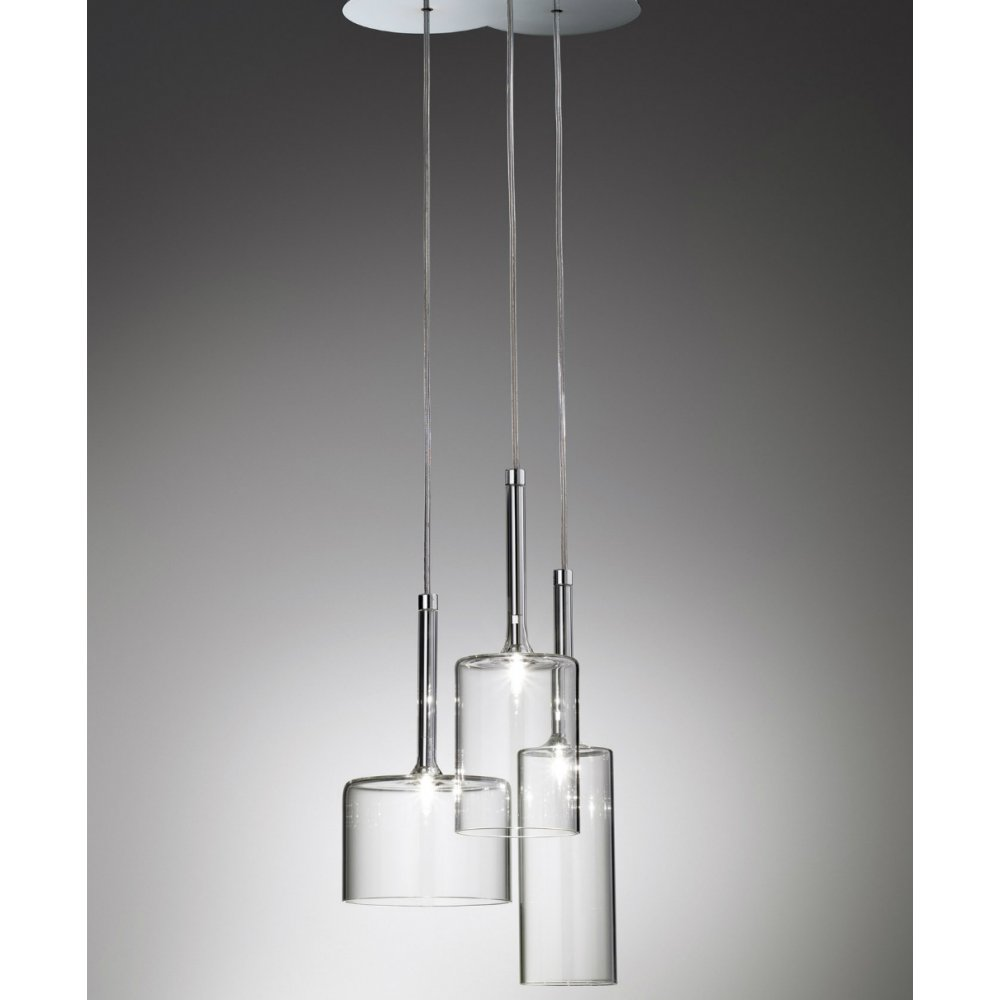 Axo Light Spillray SPSPILL3CSCR12V Crystal Pendant Ceiling