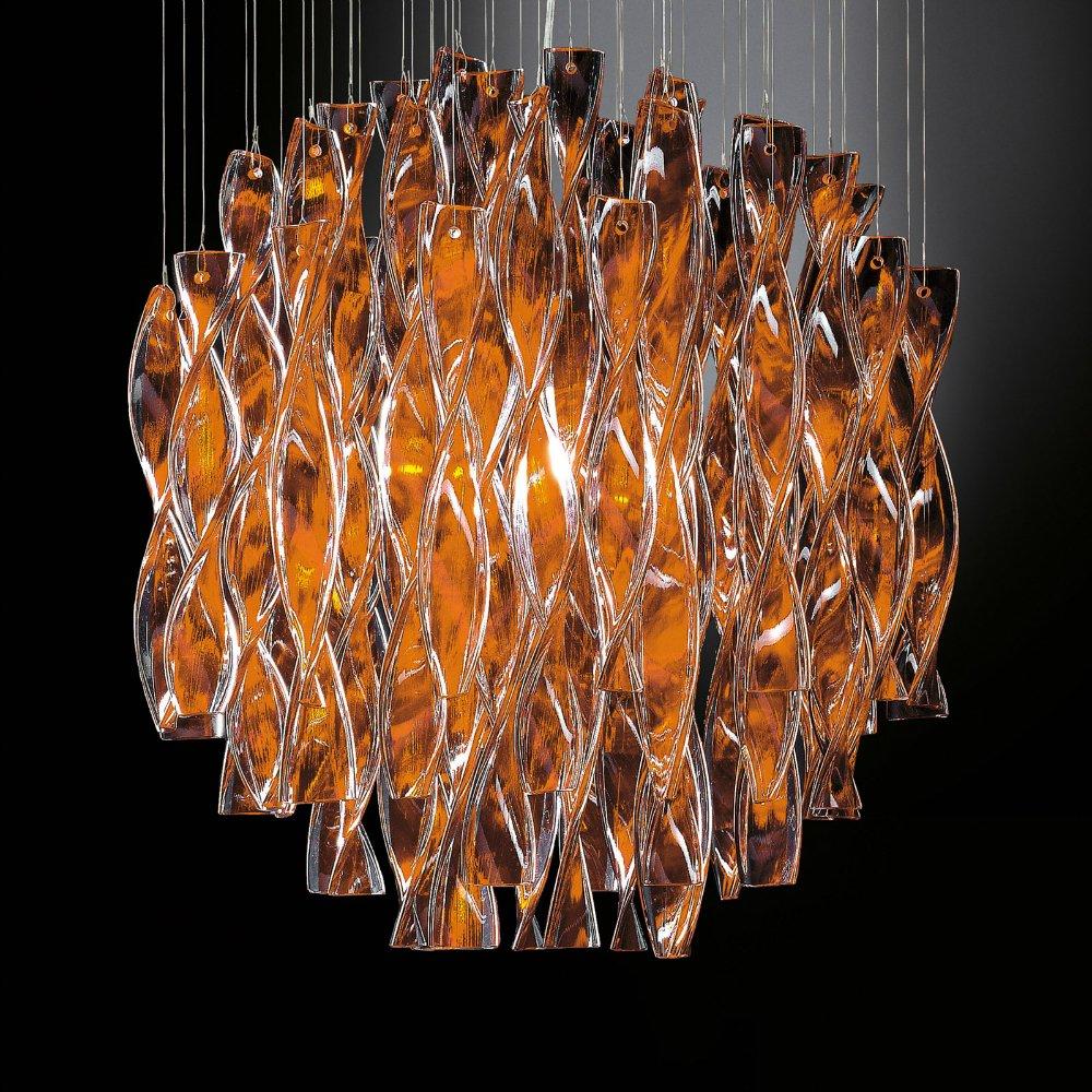 axo light aura spaura60arore2 orange ceiling light axo light from lightplan uk. Black Bedroom Furniture Sets. Home Design Ideas