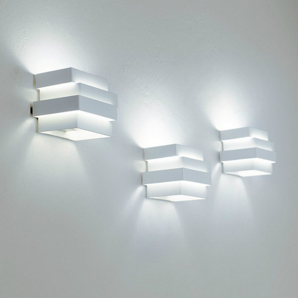 Karboxx light escape 12pawh14 white surface wall light cube aloadofball Choice Image