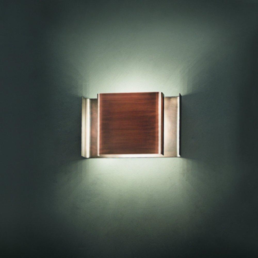 Bronze Marina Wall Lights : Karboxx Light Alalunga 18PA42LB Bronze Wall Light LED