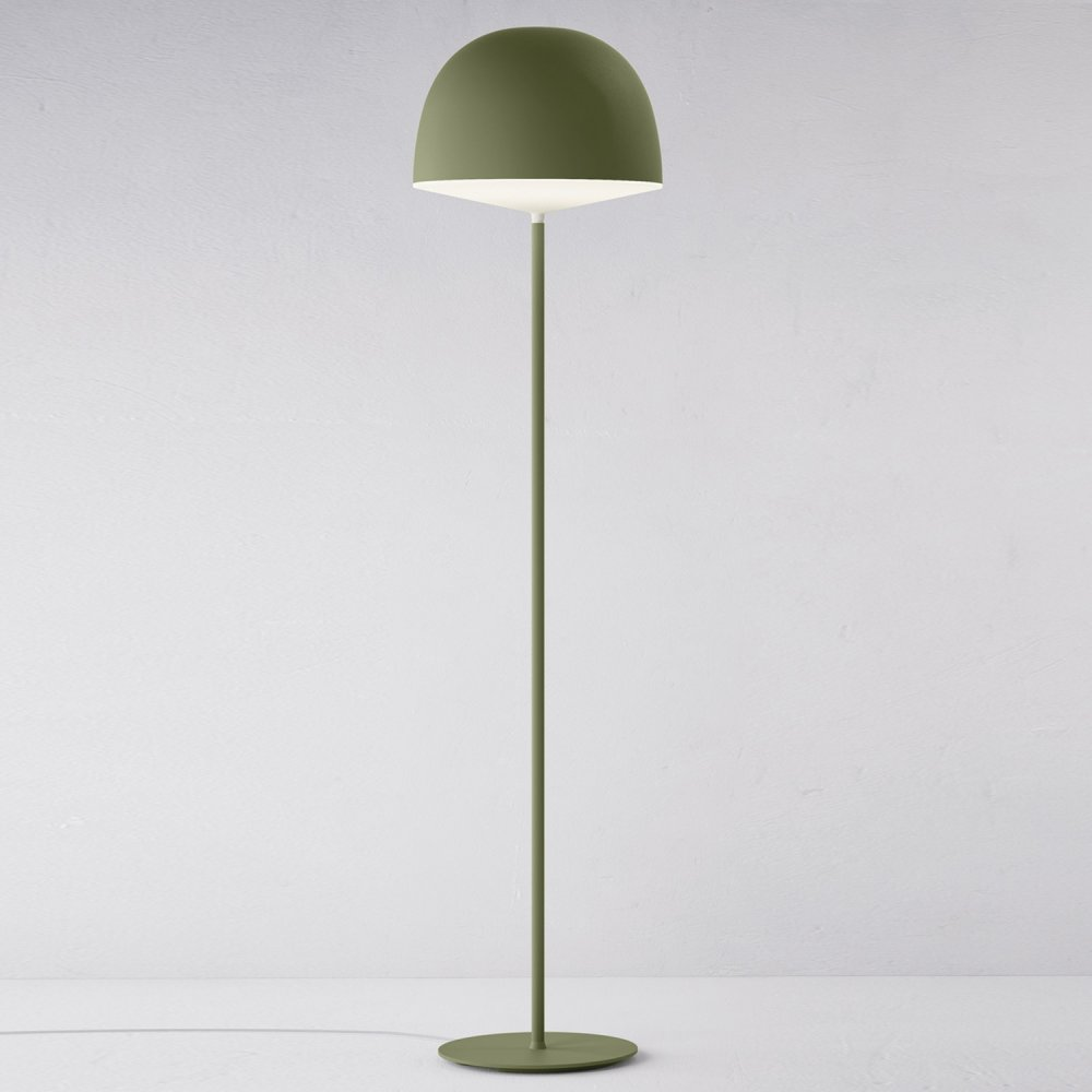Great Fontana Arte Chesire Green Interior Floor Lamp 4252