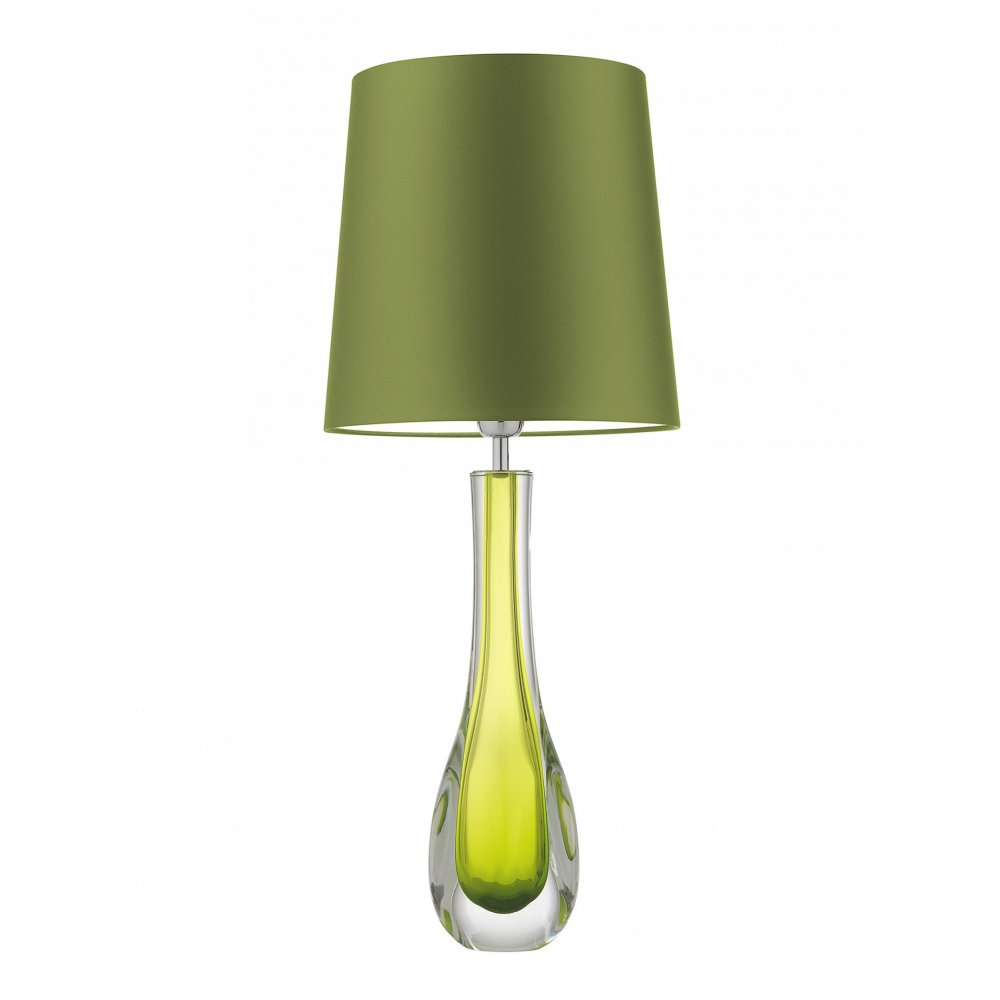 Heathfield co auria chartreuse gauricgt green glass table lamp auria chartreuse gauricgt green glass table lamp aloadofball Gallery
