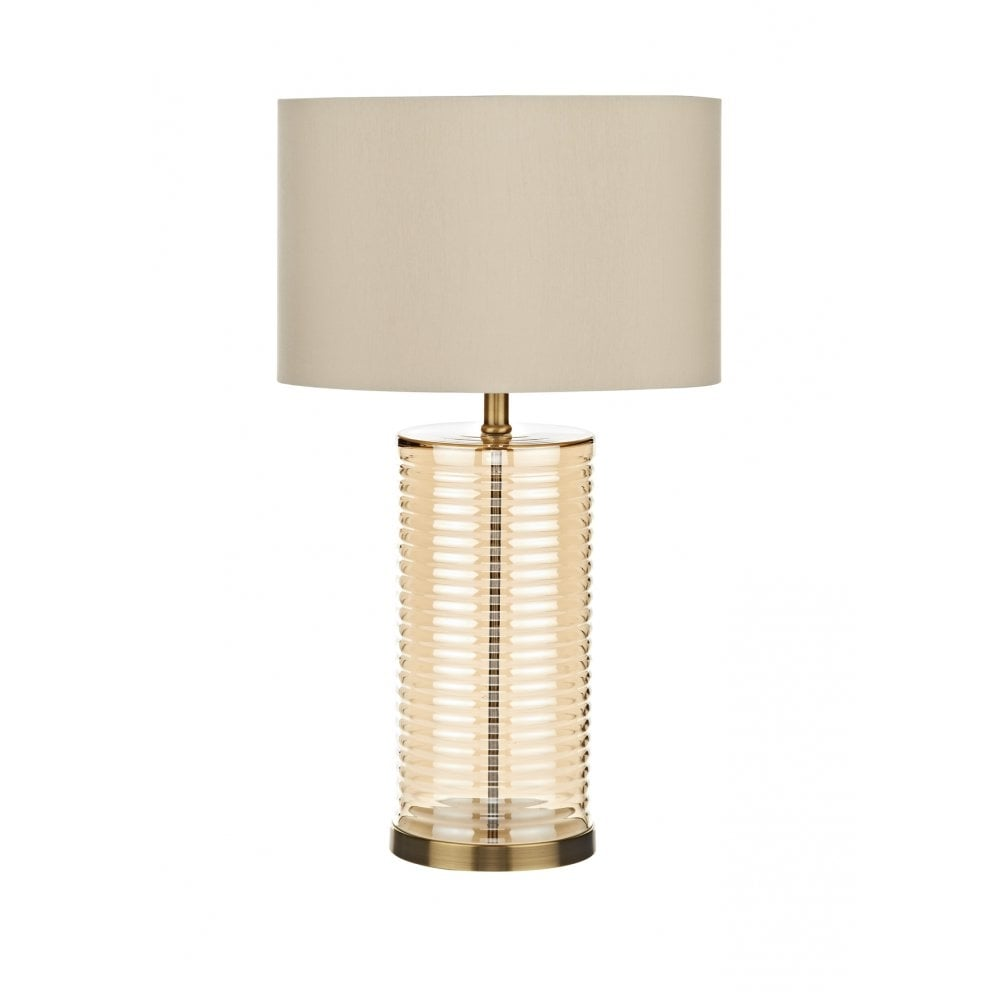 Dar lighting banyan ban4220 champagne gold table lamp shade dar dar lighting banyan ban4220 champagne gold table lamp shade aloadofball Images