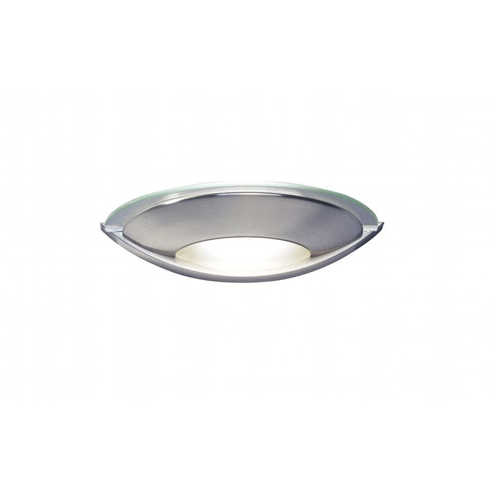 Dar Lighting Wall Lights : Dar Lighting Via VIA0746 Satin Chrome Wall Washer