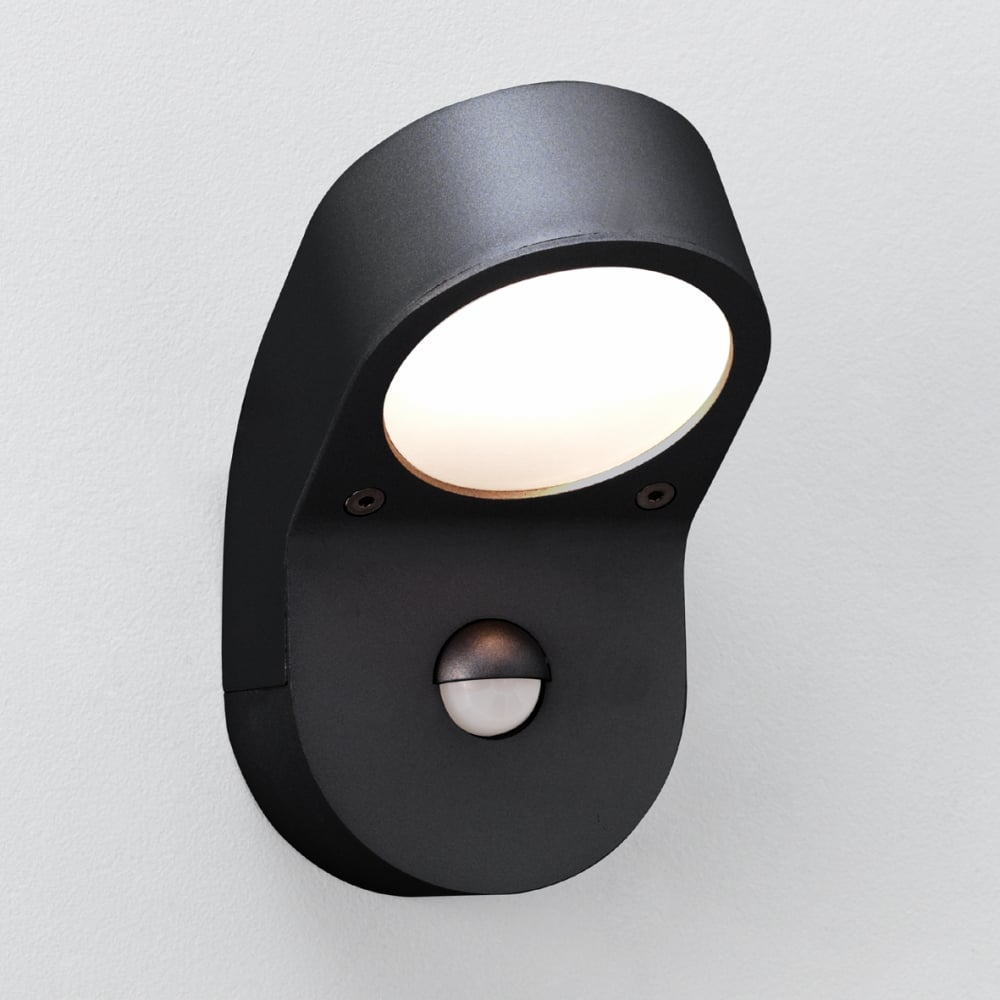 Astro soprano pir sensor 0576 outdoor wall light online at lightplan astro lighting soprano pir 0676 black aluminium outdoor wall light with presence detector mozeypictures