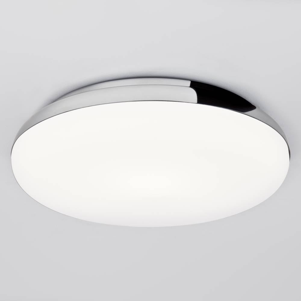 Astro 0586 altea round decorative bathroom light for Bathroom ceiling lights