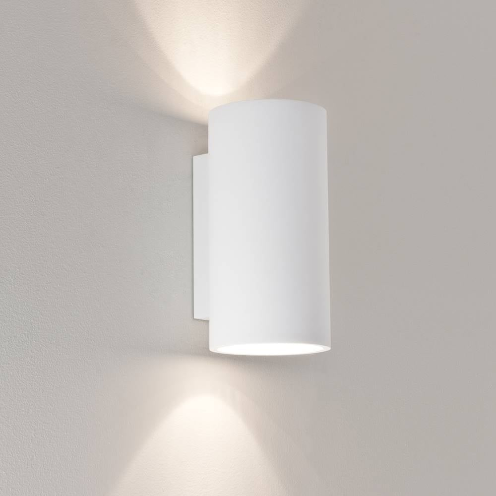 Conservatory lighting bologna 240 7002 white modern plaster up and down surface wall light ip20 aloadofball Image collections