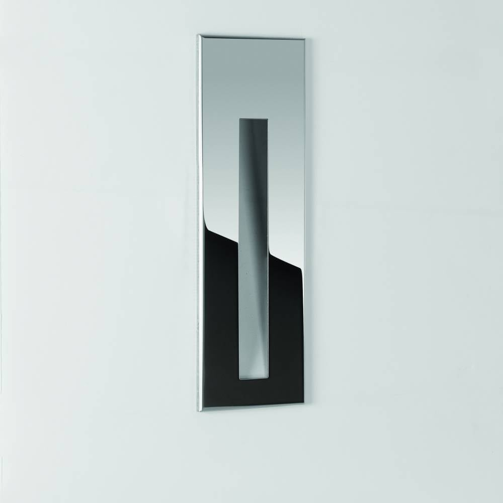Astro borgo 43 7541 led bathroom wall light online at lightplan for Stainless steel bathroom lights