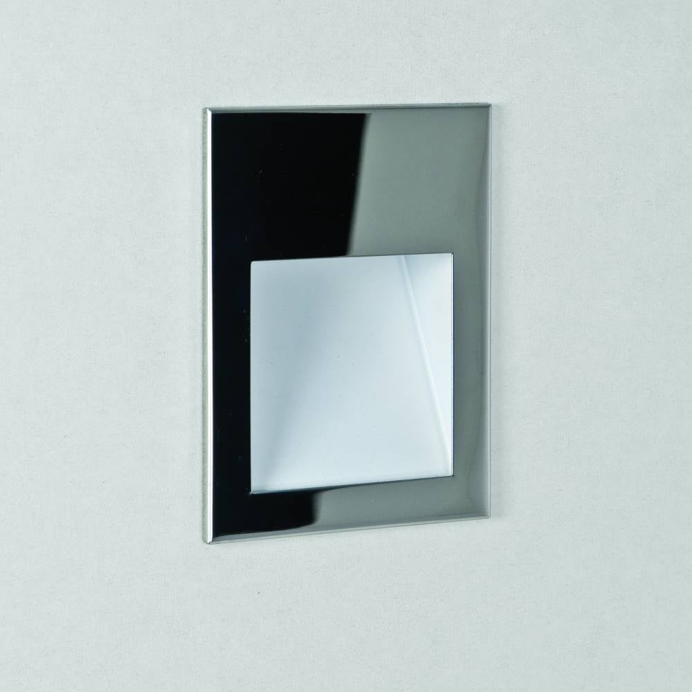 Astro borgo 54 7546 led bathroom wall light online at lightplan astro lighting borgo 54 7546 polished stainless steel led recessed wall light ip65 aloadofball Images