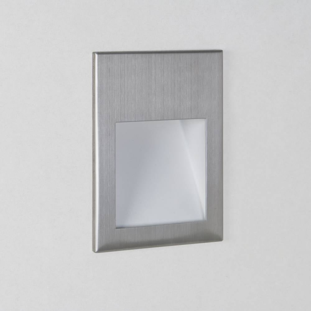 Borgo 90 0975 Square Stainless Steel LED Wall Light IP20