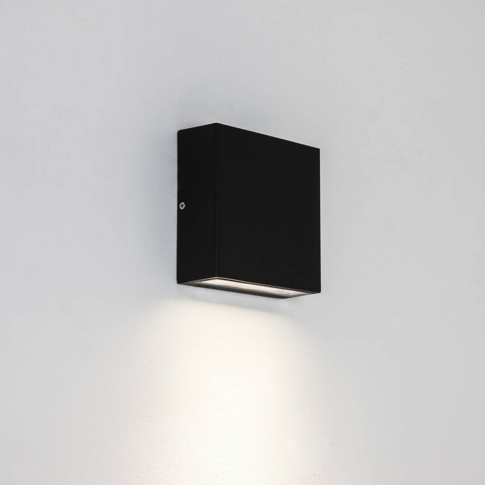Outdoor wall light black square outdoor designs astro ellis 7201 outdoor surface wall light at lightplan aloadofball Choice Image