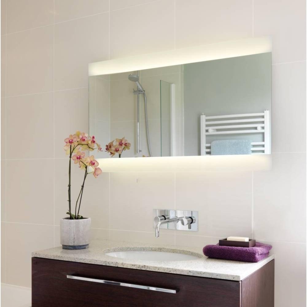 Astro fuji 950 0662 illuminated bathroom mirror buy at - Large horizontal bathroom mirrors ...