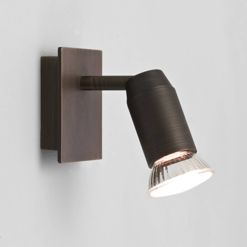 Magna 6119 surface spot wall light by astro online at lightplan astro lighting magna 6119 bronze adjustable single wall spot light 50w gu10 aloadofball Image collections