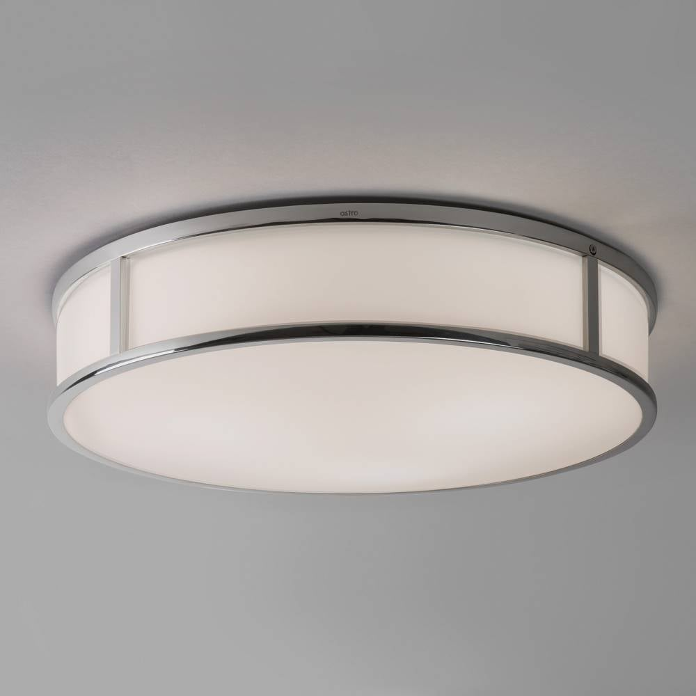 Mashiko round 400 7421 ceiling light by astro online at lightplan astro lighting mashiko 400 7421 round flush bathroom ceiling light chrome opal glass ip44 aloadofball Image collections
