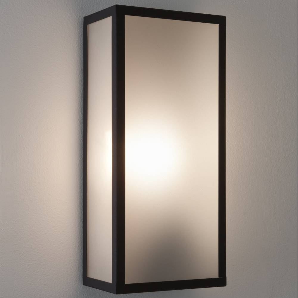 Messina 7355 exterior wall light by astro buy online for Outdoor glass wall panels