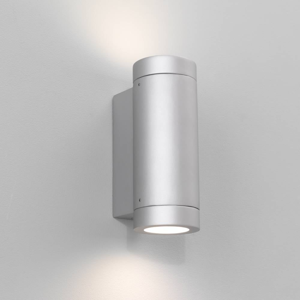 Astro porto plus 0625 twin exterior wall light online at for Lighting plus online