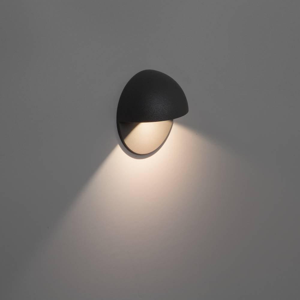 Astro Lighting Tivoli LED 7264 Black LED Exterior Surface Wall Light IP65