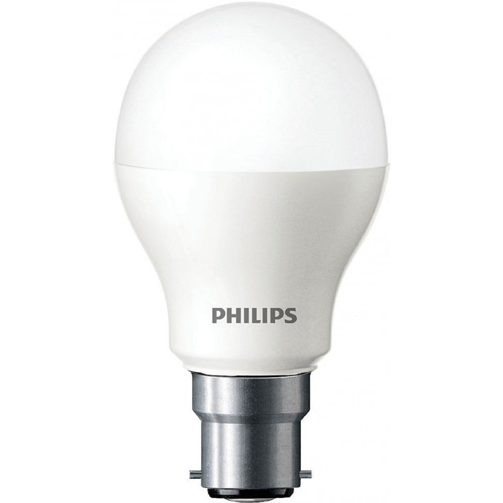 Philips Lighting Led Household Gls Lamp Ledb9wb27nd 9 5 Watt B27 Bayonet Cap 27mm Warm White