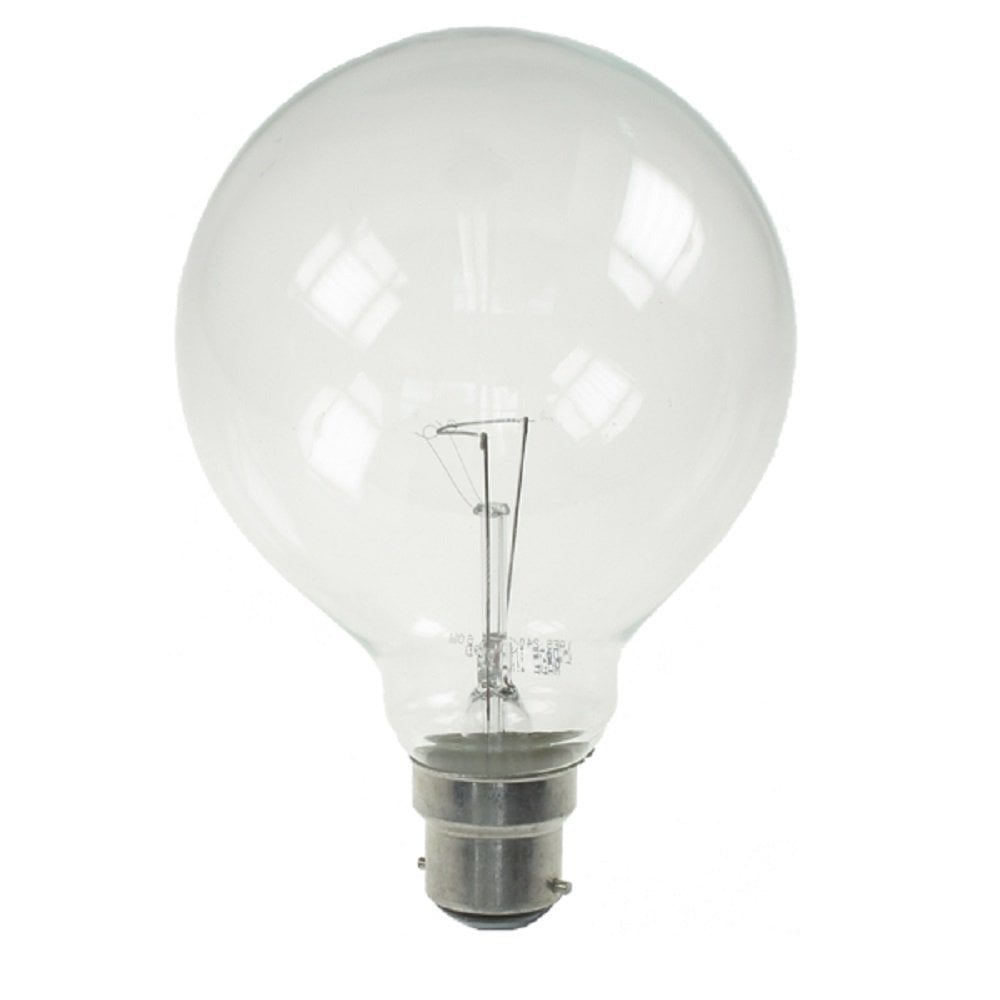 British Electric Lamps Globe Light Bulb 100w Bc British Electric Lamps From Lightplan Uk