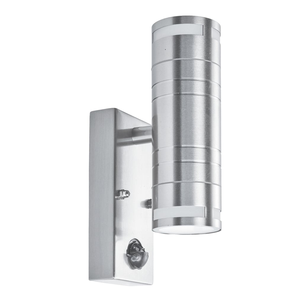 Searchlight electric 1318 2 outdoor wall light online at lightplan for Exterior wall light with motion sensor