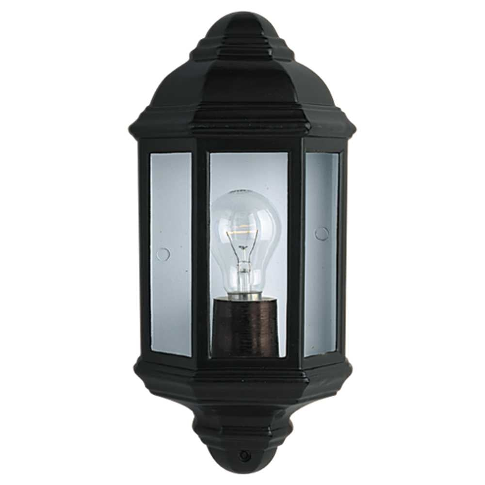 Outside Electric Wall Lights : Searchlight Electric 280BK Outdoor Wall Light Buy at Lightplan