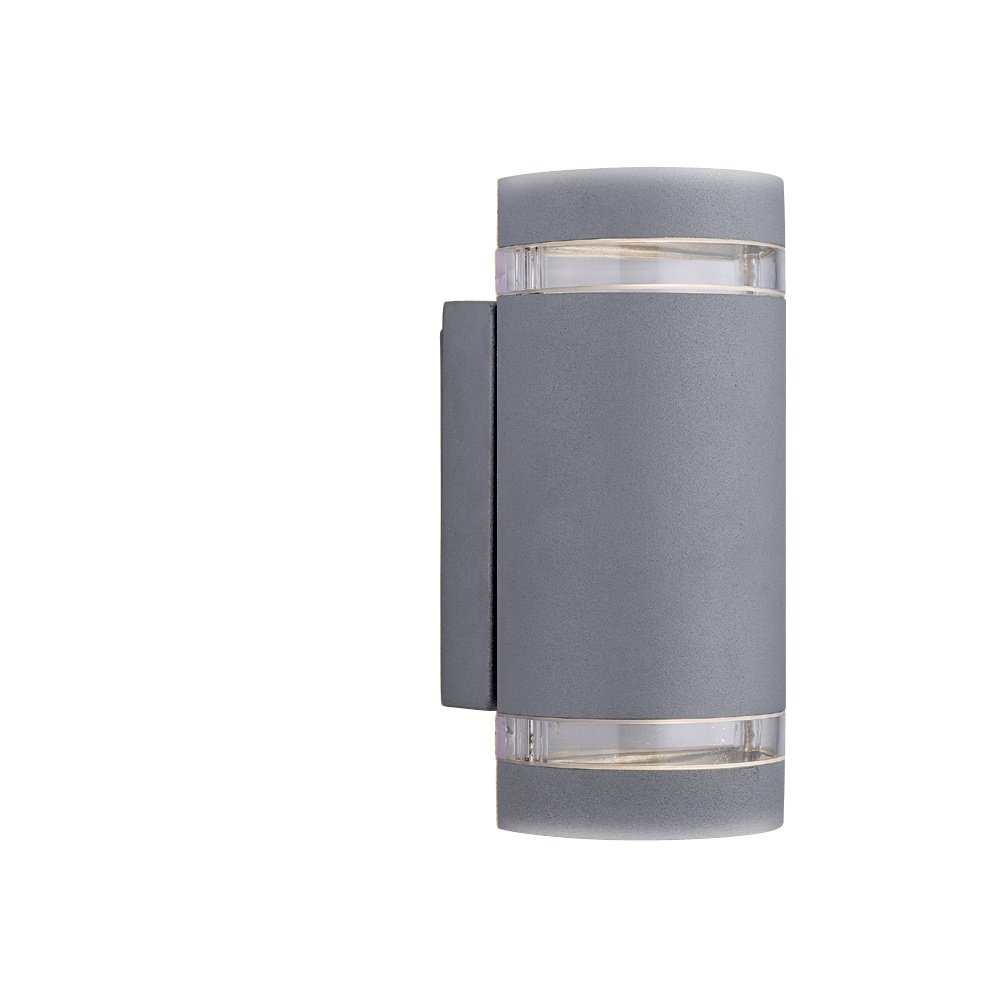 Grey Glass Wall Lights : Searchlight Electric 6040GY Grey Outdoor Wall Light - Searchlight Electric from Lightplan UK
