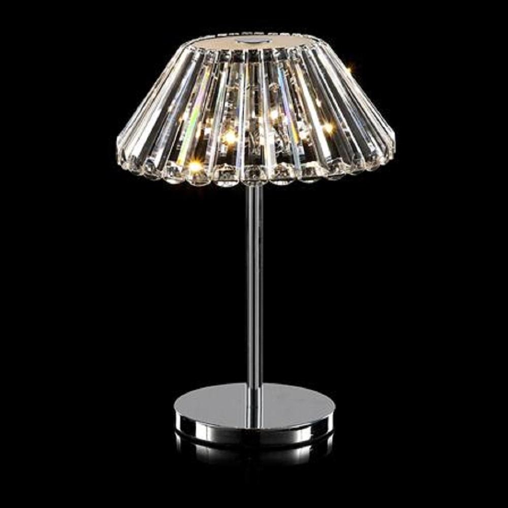Illuminati lighting srl alyssa mt1103208 3c chrome for 12 volt table lamp
