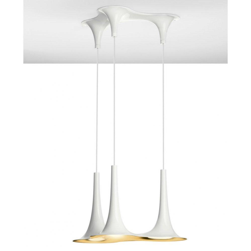 Axo Light Nafir SPNAFIR3BC0RGU1 White And Gold Pendant