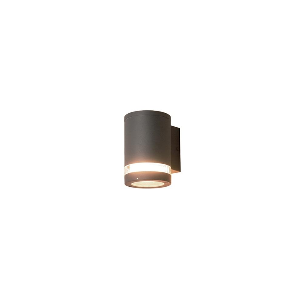 Outside Wall Lights Grey : Elstead Lighting Azure Low Energy 3 Dark Grey Outdoor Wall Light - Elstead Lighting from ...