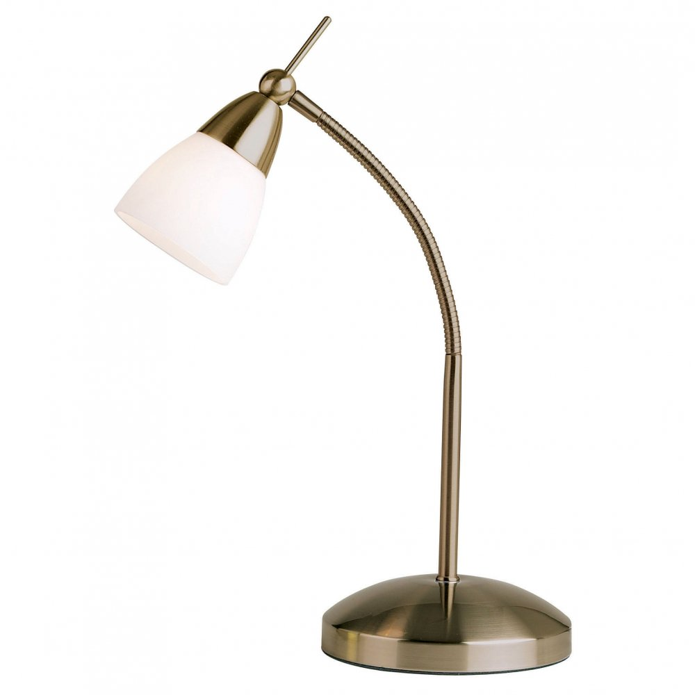 Endon Lighting 652 Tlan Antique Table Amp Desk Lamp Endon