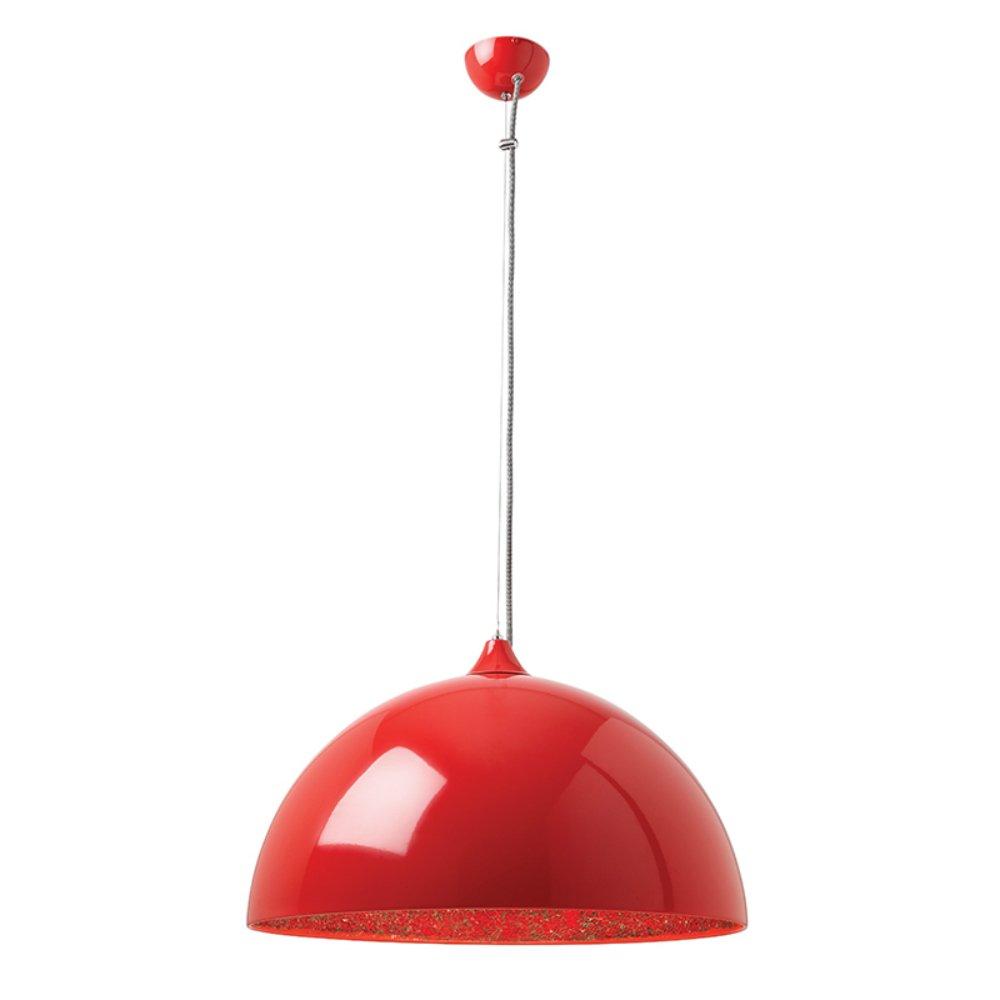 Endon Lighting Bardem BARDEM RE Red Pendant Ceiling Light