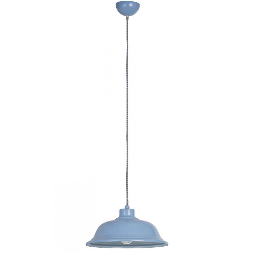 Endon Lighting Laughton LAUGHTON BLU Blue Pendant Ceiling
