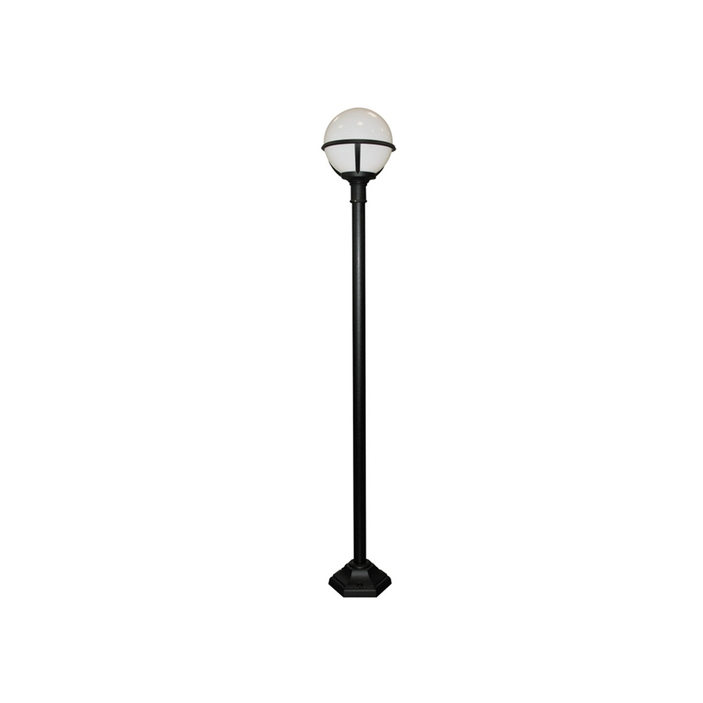 Elstead Lighting Glenbeigh Black White Outdoor Lamp Post Elstead Ligh