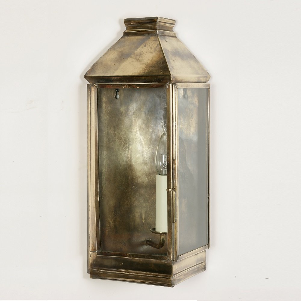 Indoor Wall Lantern Lights : The Limehouse Lamp Company Greenwich 504 Light Antique Wall Lantern - The Limehouse Lamp Company ...