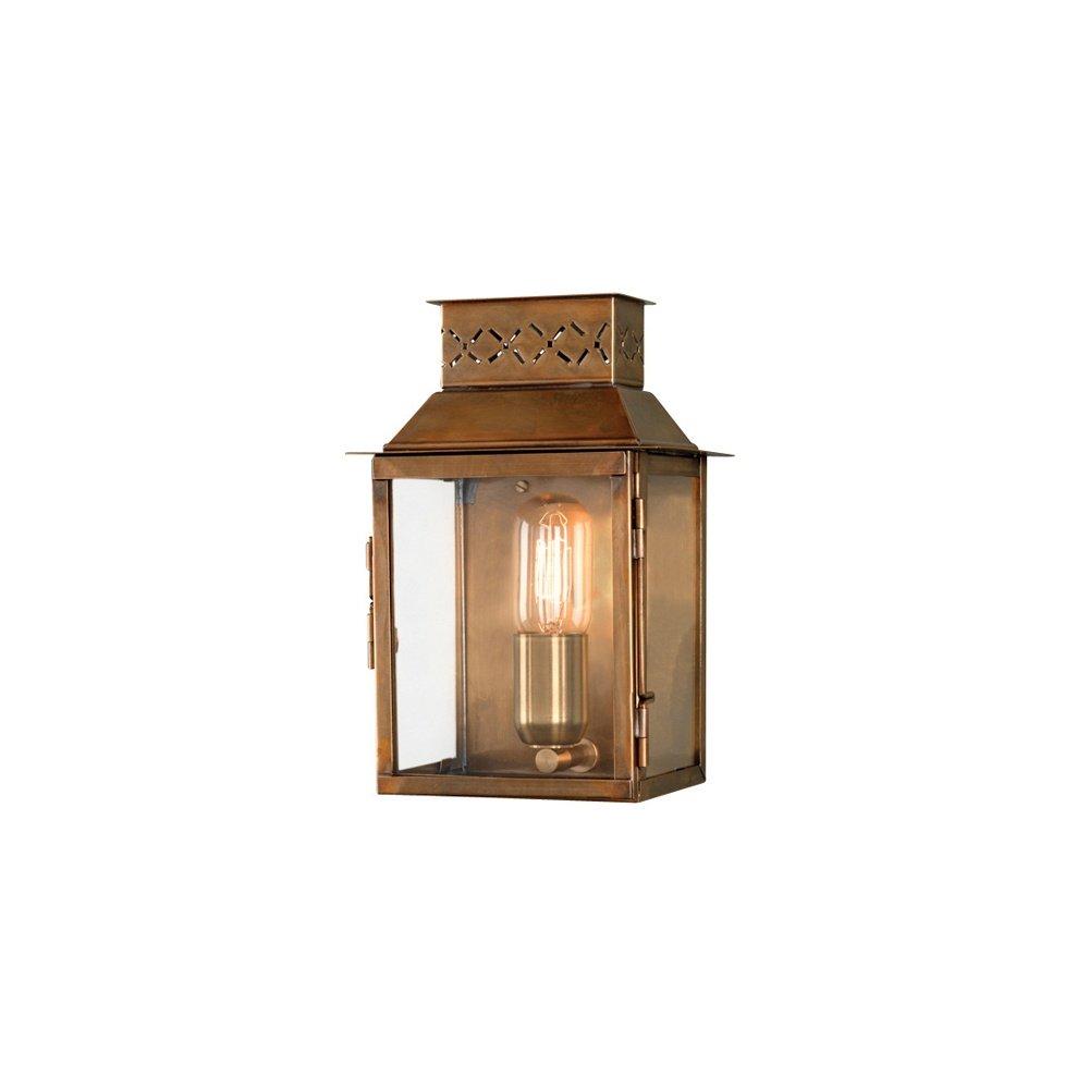 Elstead Lighting Lambeth Palace Outdoor Brass Wall Lantern - Elstead Lighting from Lightplan UK
