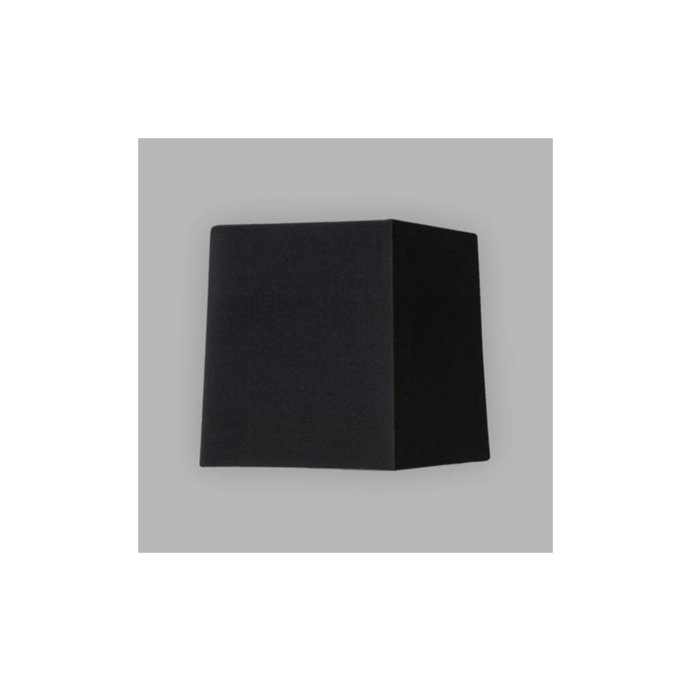 astro lighting lambro 4029 black fabric tapered square shade astro lighting from lightplan uk. Black Bedroom Furniture Sets. Home Design Ideas