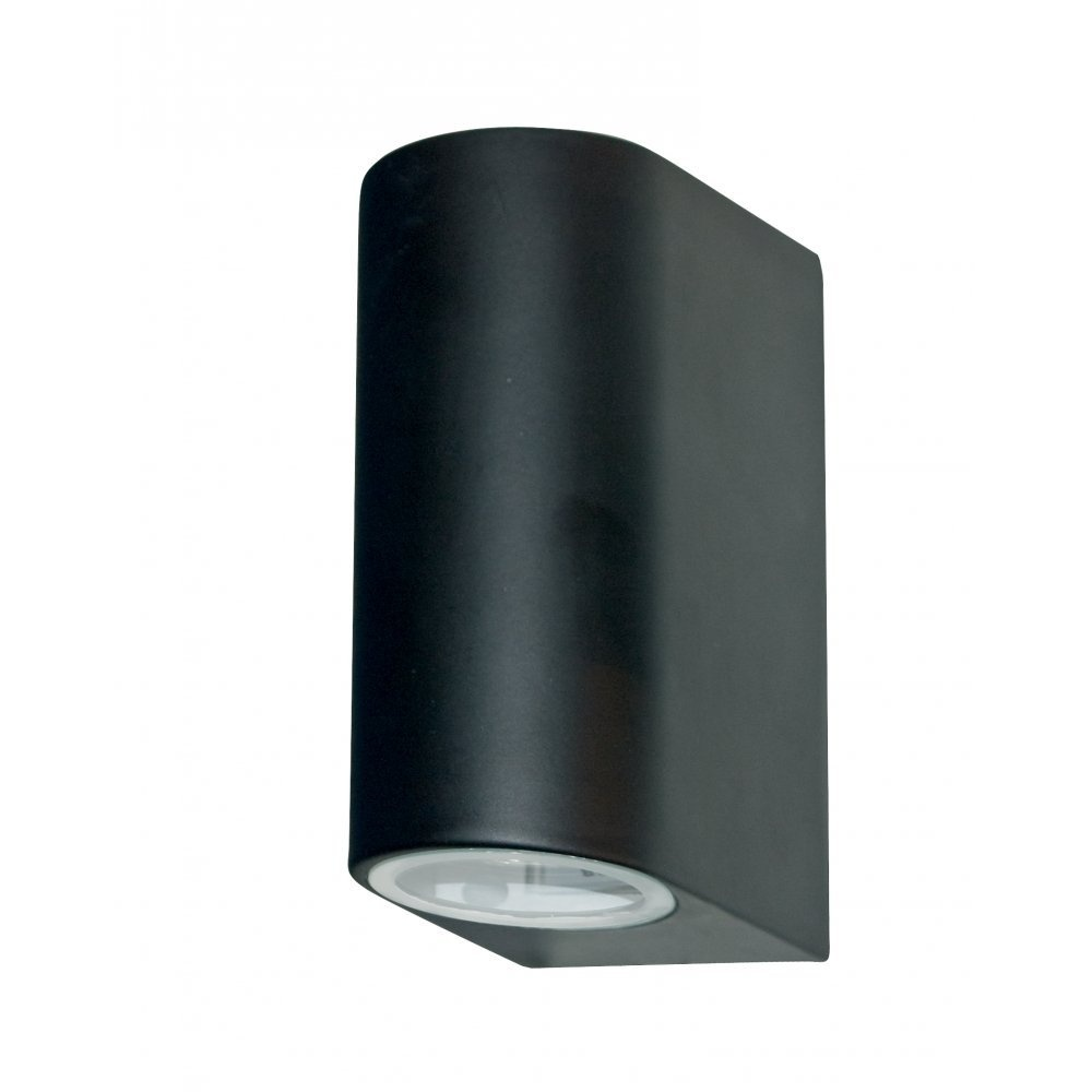 Outside Electric Wall Lights : Searchlight Electric Outdoor 8008-2BK Black Wall Light Large - Searchlight Electric from ...