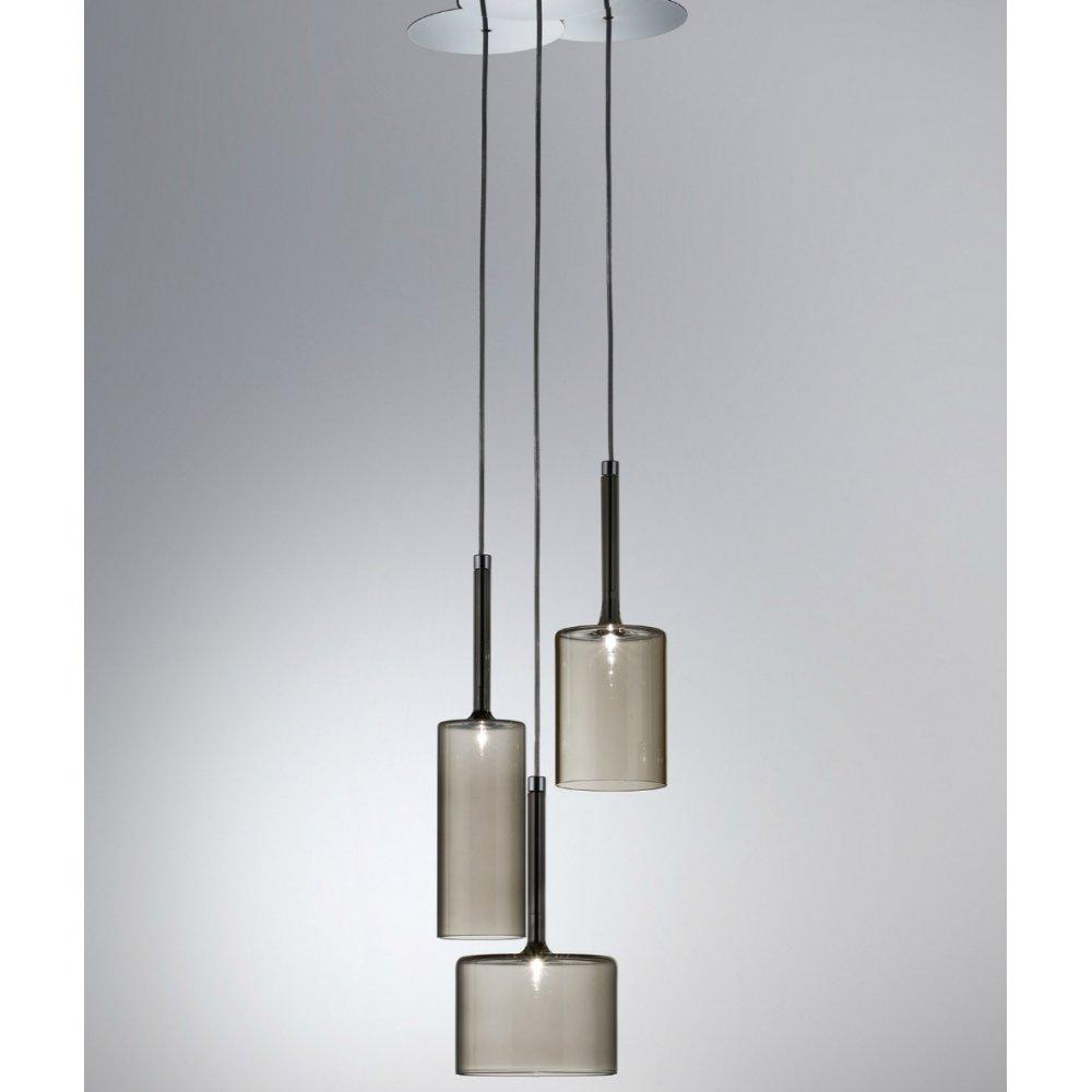 Axo Light Spillray Spspill3grcr12v Grey Pendant Ceiling