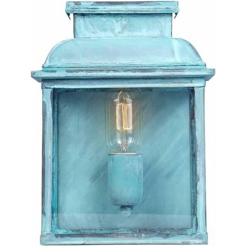 Elstead Lighting Old Bailey Outdoor Verdigris Wall Lantern