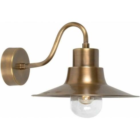 Elstead Sheldon-BR Outdoor Wall Light Brass