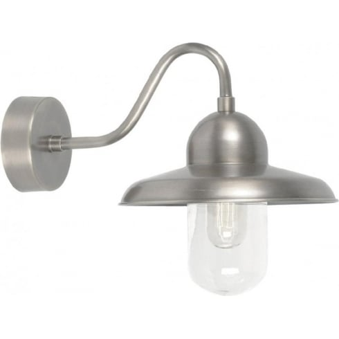 Elstead Lighting Somerton Antique Nickel Wall Light