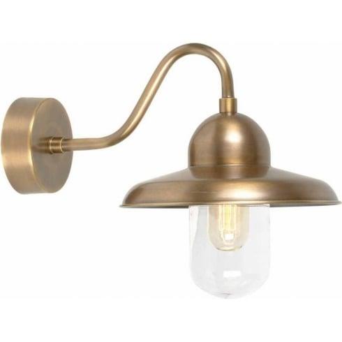 Elstead Somerton-BR Outdoor Wall Light Brass