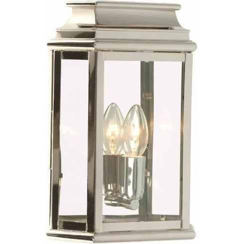 Elstead Lighting St Martins Polished Nickel Wall Lantern