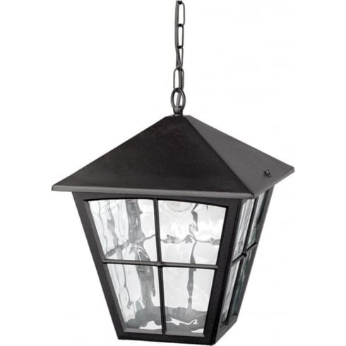 Elstead Lighting Edinburgh BL38 Black Chain Lantern